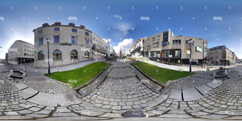 Vista panorámica en 360 grados de Ciudad de Haugesund