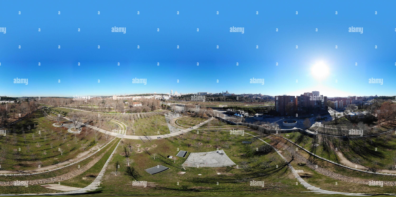 Vista panorámica en 360 grados de Casa de Campo, Madrid