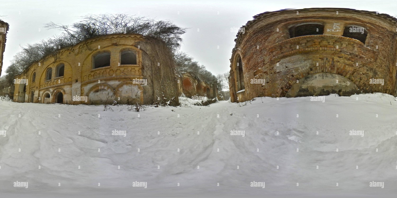 Vista panorámica en 360 grados de Fort Tarakanivskyy 3/3