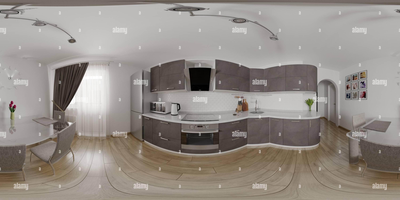 Vista panorámica en 360 grados de Cocina_08.01.2019