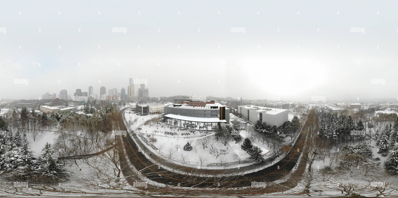 Vista panorámica en 360 grados de Campus Ayazağa İTÜ- Invierno (propuesta YDY Edition).