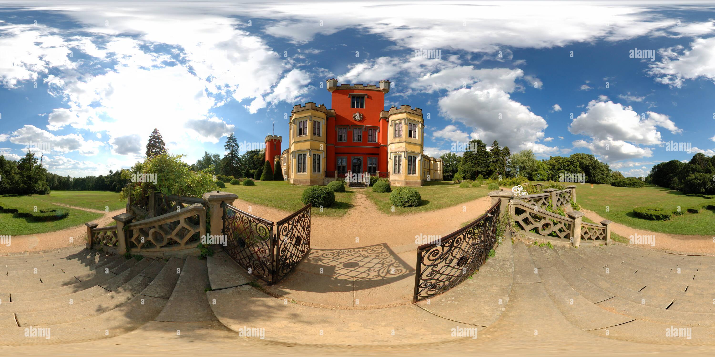 Hradek u Nechanic castillo. Imagen De Stock