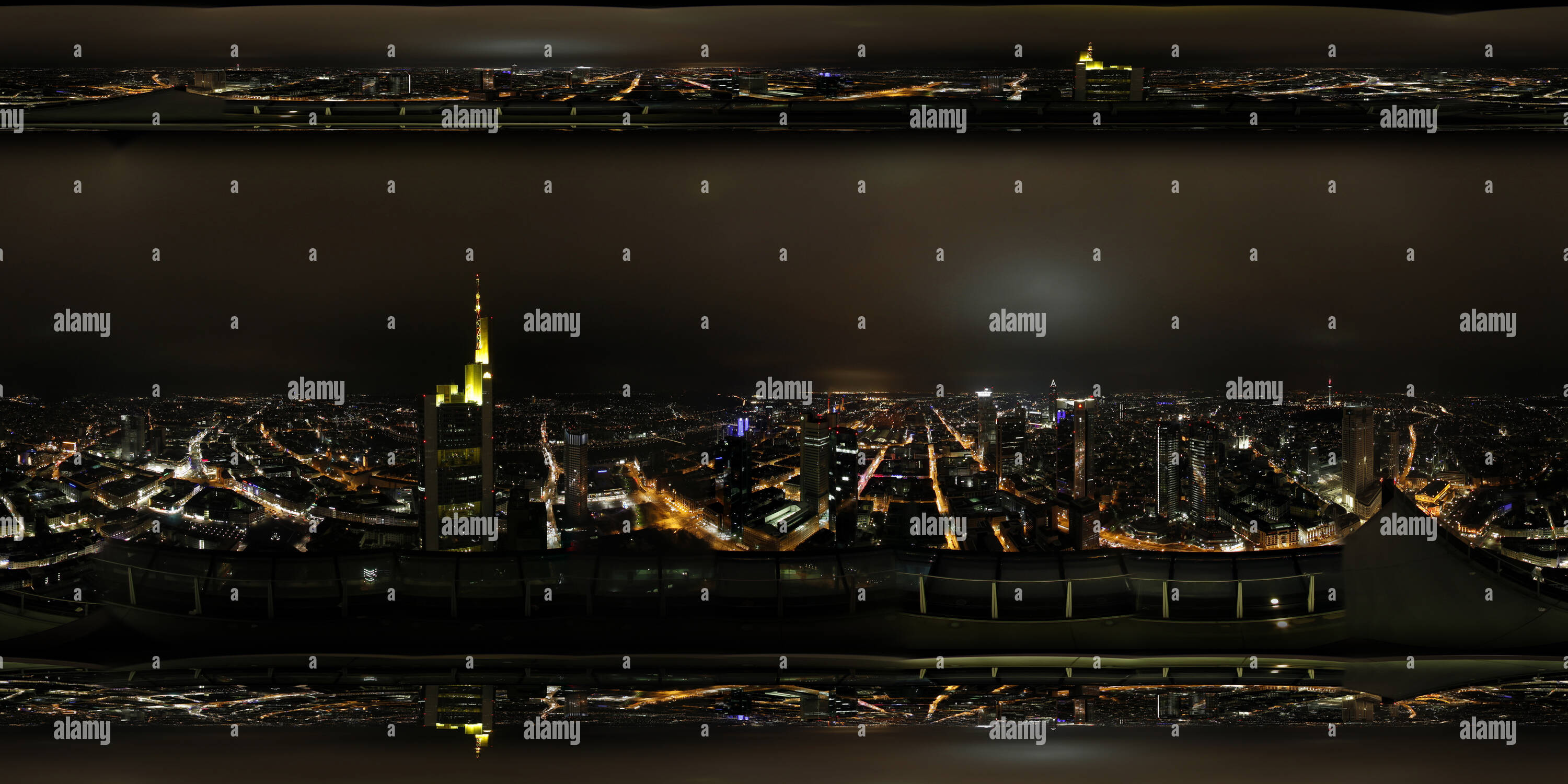 360cities Frankfurt Main Tower Imagen De Stock