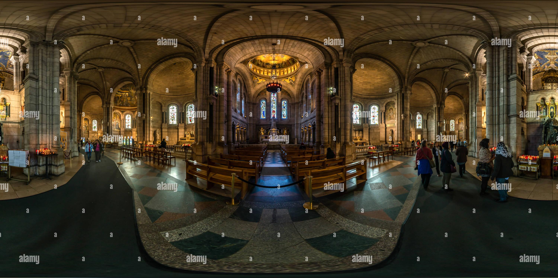 La basilique du Sacré Coeur de Montmartre Imagen De Stock