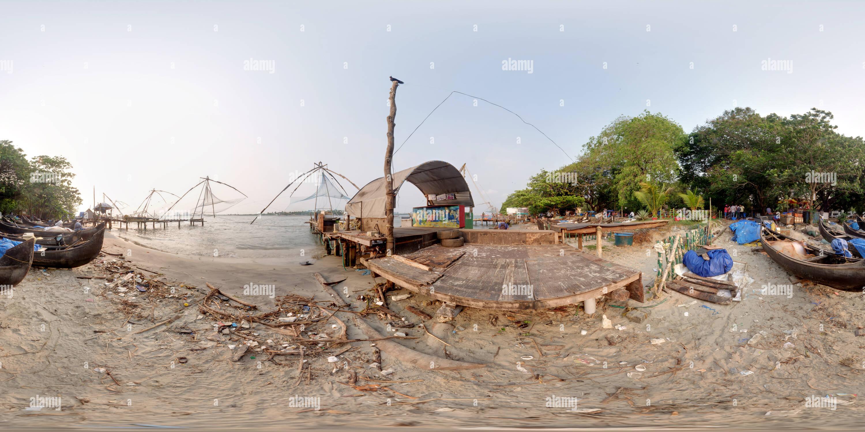 La última cena en una red de pesca chino Imagen De Stock