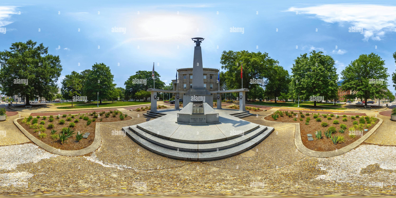 El Memorial de la Segunda Guerra Mundial, el Capitolio del Estado de Carolina del Norte, Raleigh Imagen De Stock