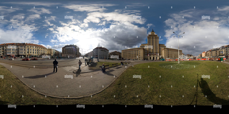 Los rascacielos de Stalin Imagen De Stock