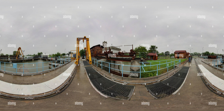 D Hydro Electric Station Imagen De Stock