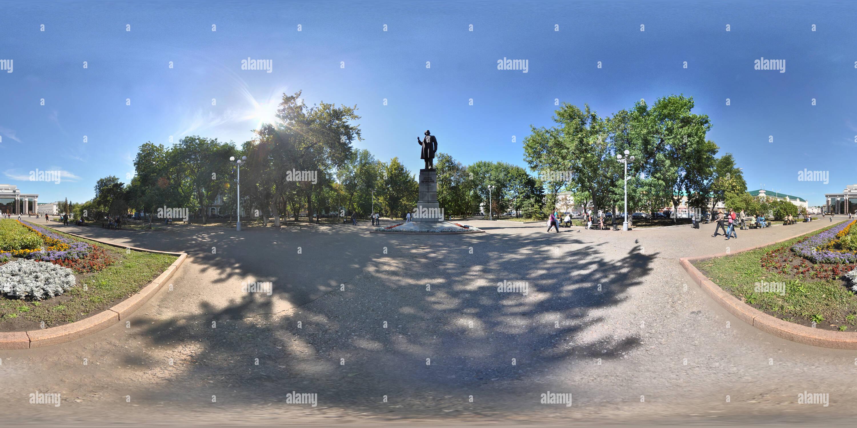 Estatua de Vissarion Belinsky, verano Imagen De Stock