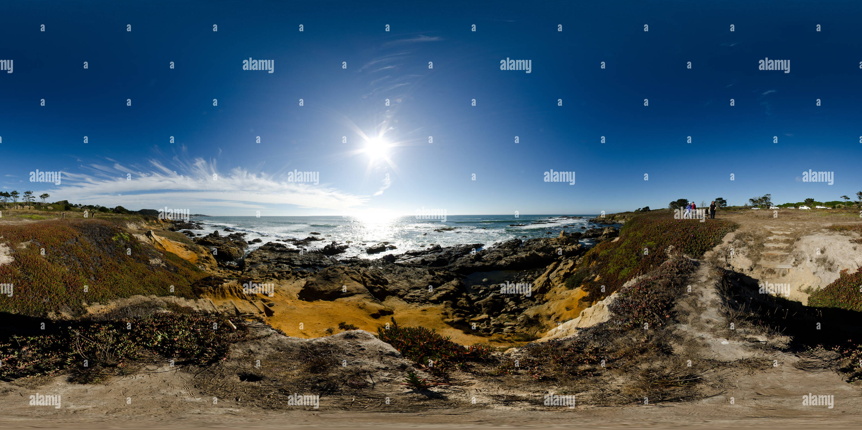 Costa del Pacífico Imagen De Stock