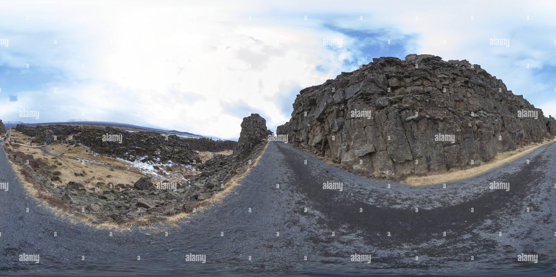 El parque nacional de Þingvellir Imagen De Stock