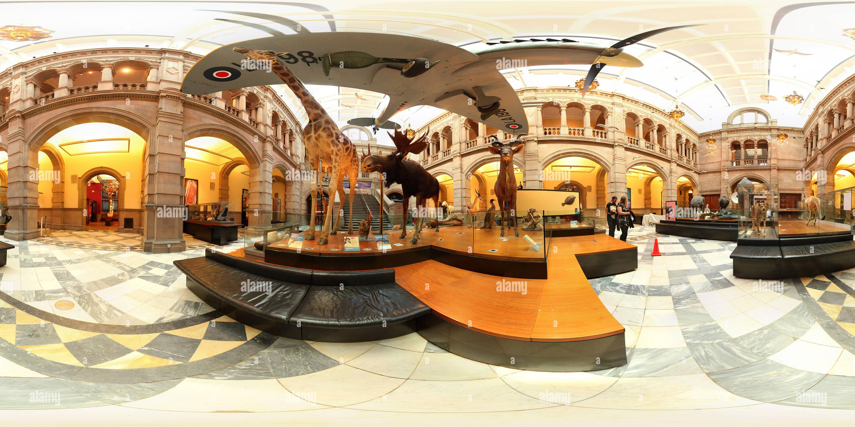 Galería de arte Kelvingrove y Museum por Mark Sutherland Imagen De Stock