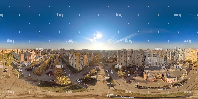 En la esquina de Boulevard y Boulevard Platanovsky escolar Imagen De Stock