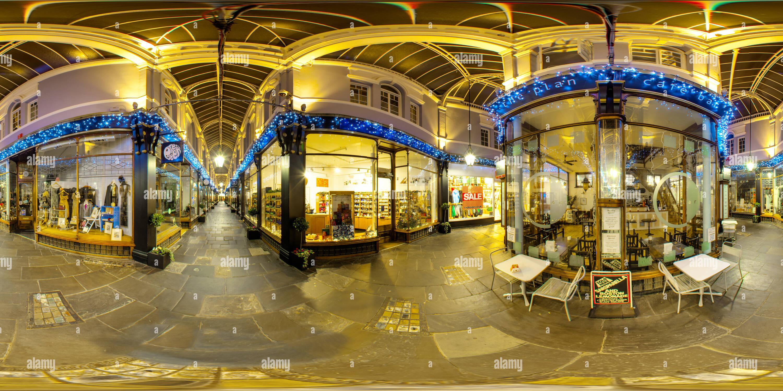 Morgan Arcade Cardiff Navidad 2011 Imagen De Stock