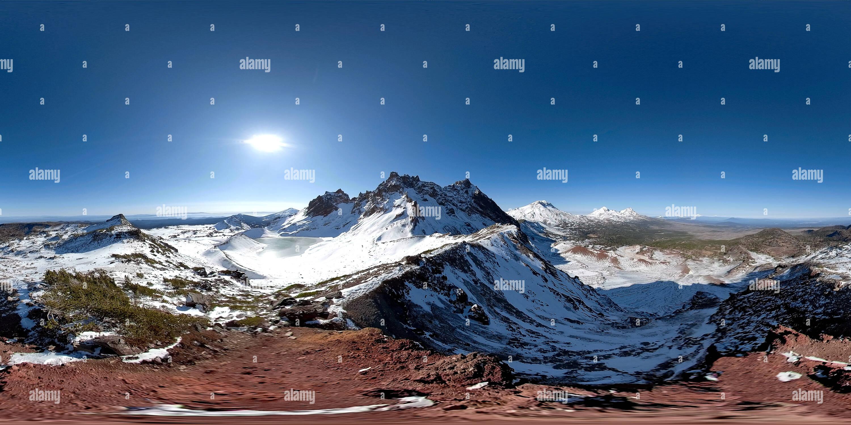 Roto Top Mountain, Oregon Novemeber 8th 2018 Imagen De Stock