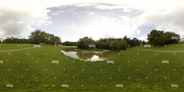 Vista panorámica en 360 grados de Park Vom Zentralklinikum Augsburg