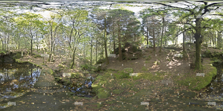 Lago artificial Imagen De Stock