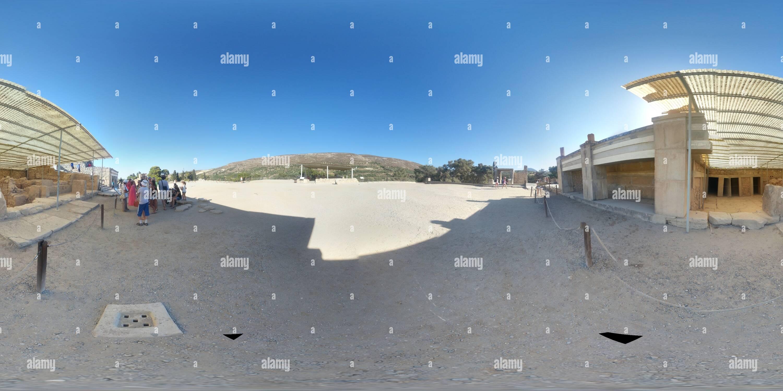 Palacio de Knossos Imagen De Stock