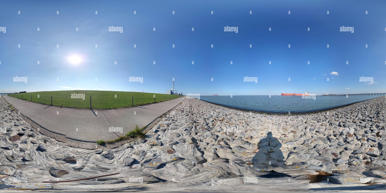 Ölhafendamm, Wilhelmshaven Imagen De Stock