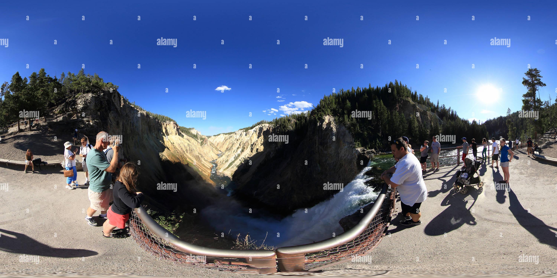 Parque Nacional Yellowstone Imagen De Stock
