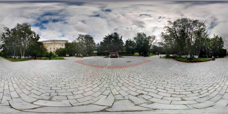 Памятник пограничник артики Imagen De Stock