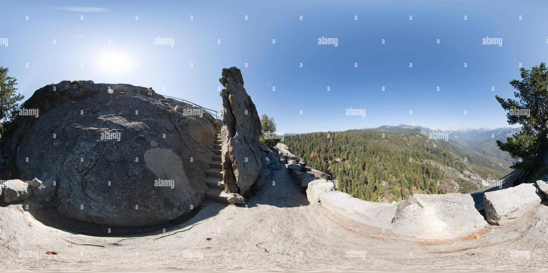 El Parque Nacional de las secuoyas Imagen De Stock