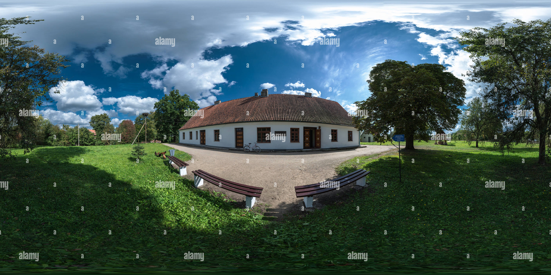 El museo del poeta lituano Donelaitis Cristianas Imagen De Stock
