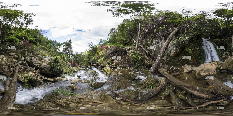Cascada Mengaya, Aceh Imagen De Stock