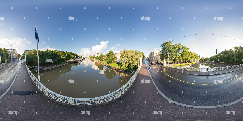 Turku. Vista desde el puente (34) Imagen De Stock
