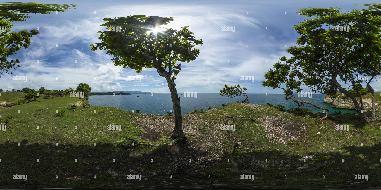 Mirador Lamreh nuevamente, Aceh Imagen De Stock