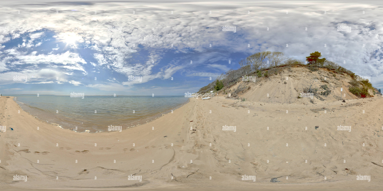 Playa de Monomoy NWR Imagen De Stock