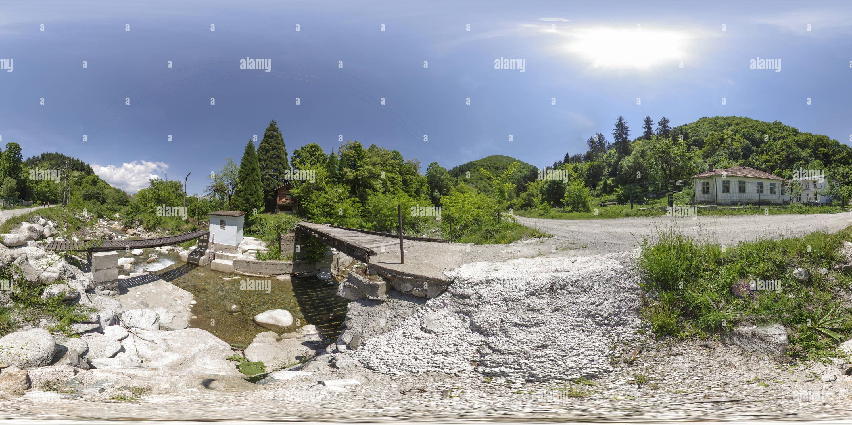 Central hidroeléctrica 'Osogovo' en Garlyano, Bulgaria Imagen De Stock