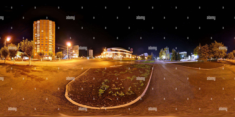 Sura, centro de deportes acuáticos, noche de verano Imagen De Stock