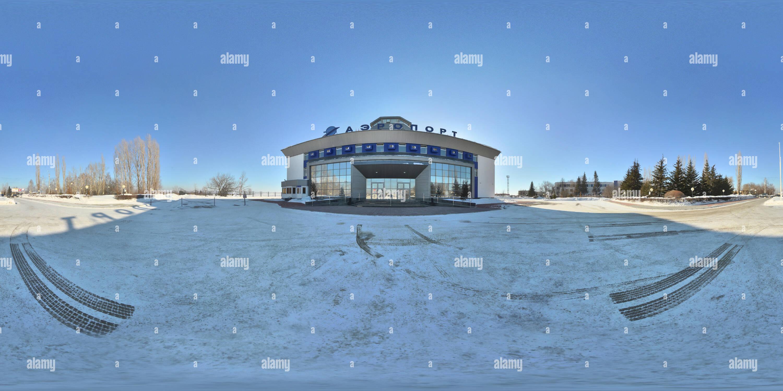Penza Airport, invierno Imagen De Stock