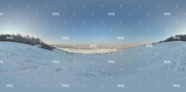El autódromo Virage, invierno Imagen De Stock