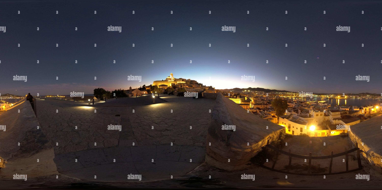Las noches de Ibiza! Imagen De Stock