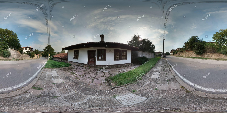 - Пред Село Байлово къщата на Елин Пелин Imagen De Stock
