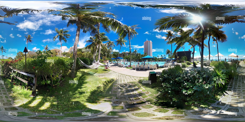 Guam Islas del Pacífico (PIC) Piscina Club Imagen De Stock