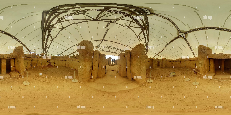 Mnajdra templos neolíticos Imagen De Stock