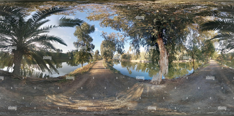El Kineret - lagos de pesca Imagen De Stock