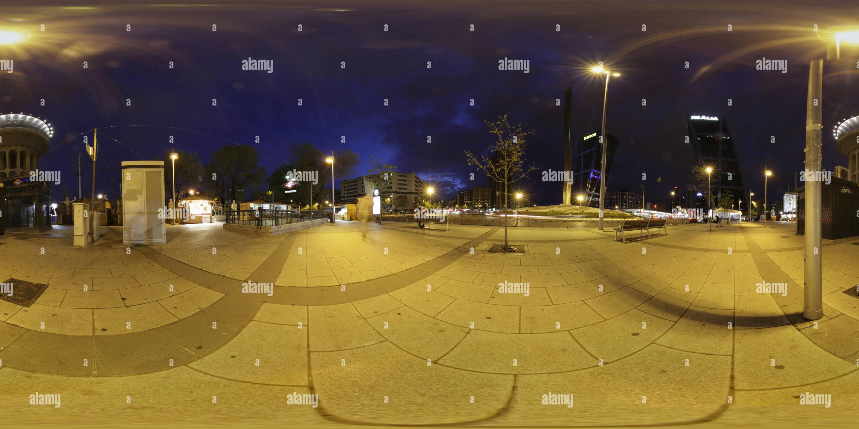NOCTURNO MADRID Imagen De Stock