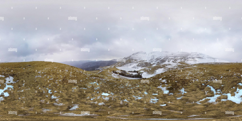 Lacu Vulturilor en invierno Imagen De Stock