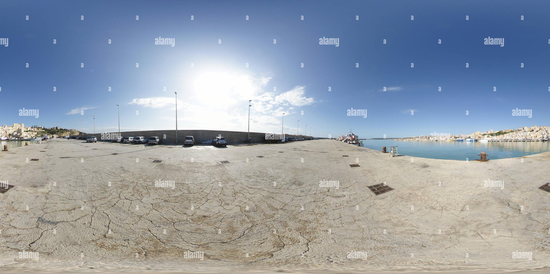 En el puerto de Sciacca, Sicilia Imagen De Stock