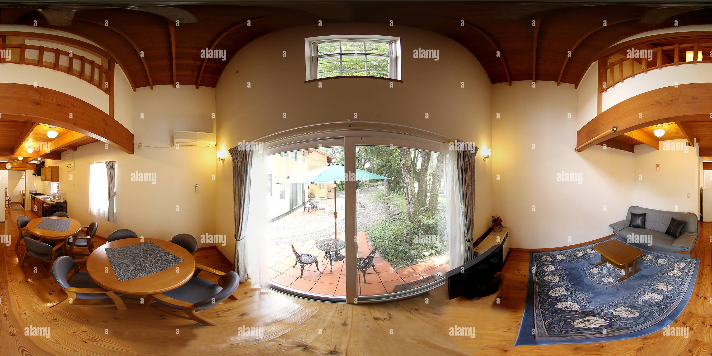 Día de Campo Hakuba Cottage Room2 Imagen De Stock