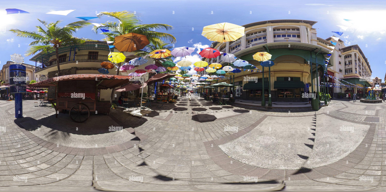 Paraguas street en Port Louis, Mauricio Imagen De Stock