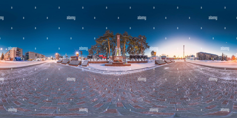 Año Nuevo 2019 en Zavodoukovsk [5]. Imagen De Stock
