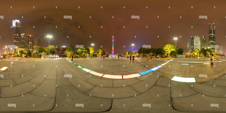 Plaza de la ciudad de flores,Guangzhou Imagen De Stock
