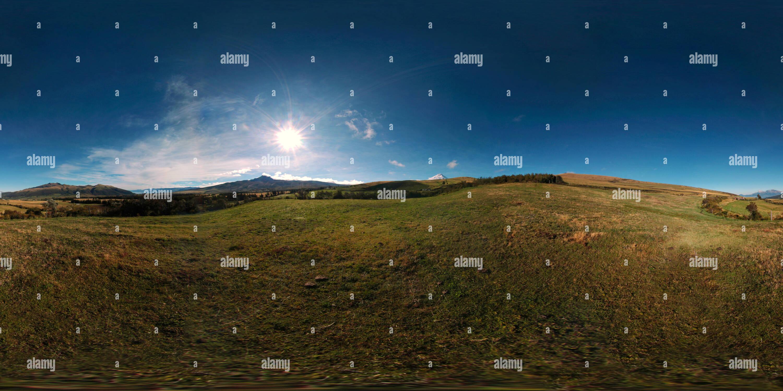 Vista de páramo andino Imagen De Stock