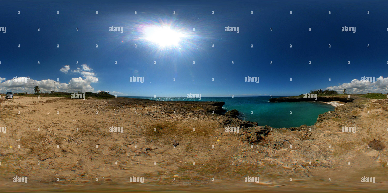 Juan Dolio costa en el verano Imagen De Stock