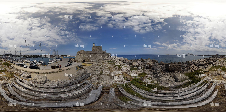 Puerto de rodas Imagen De Stock